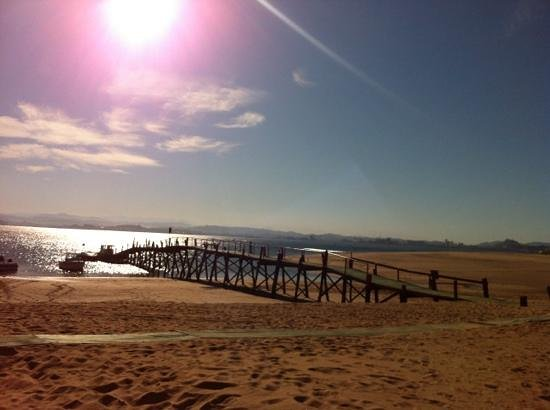 Foto playa El Galán.