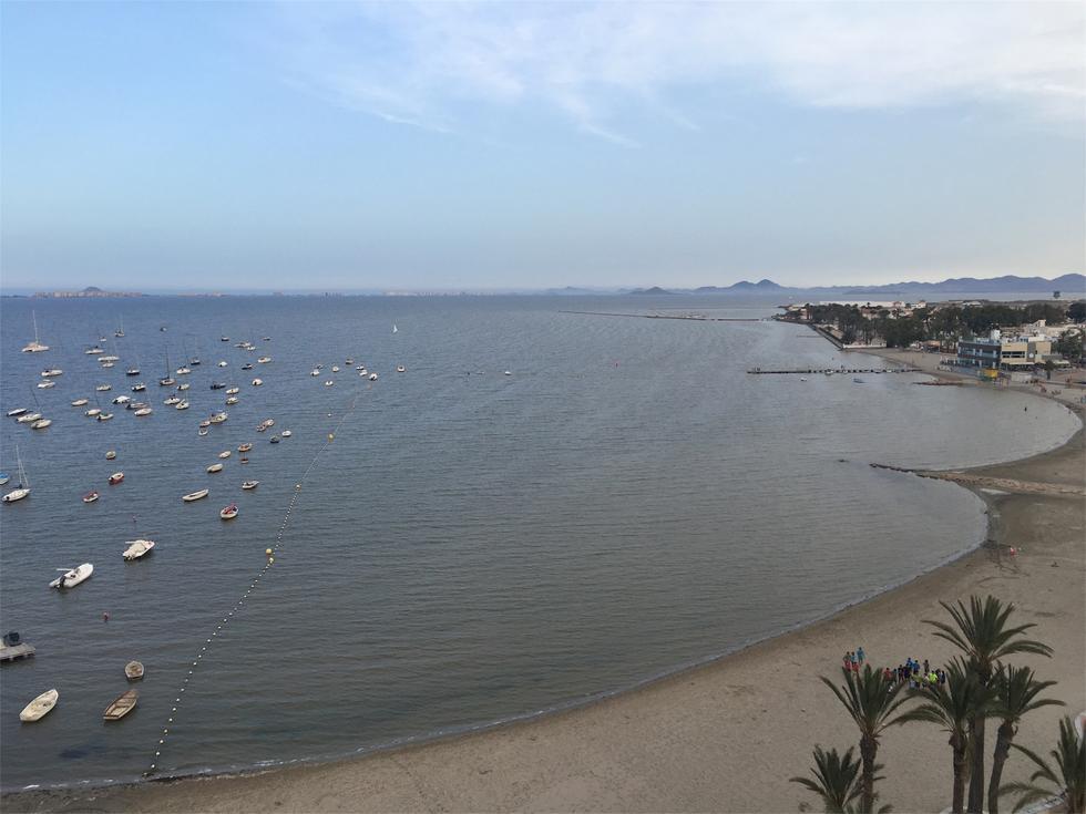Foto playa El Pescador.