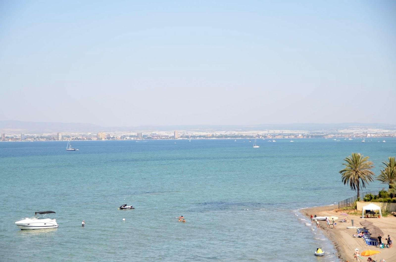 Foto playa Pudrimel del Mar Menor.
