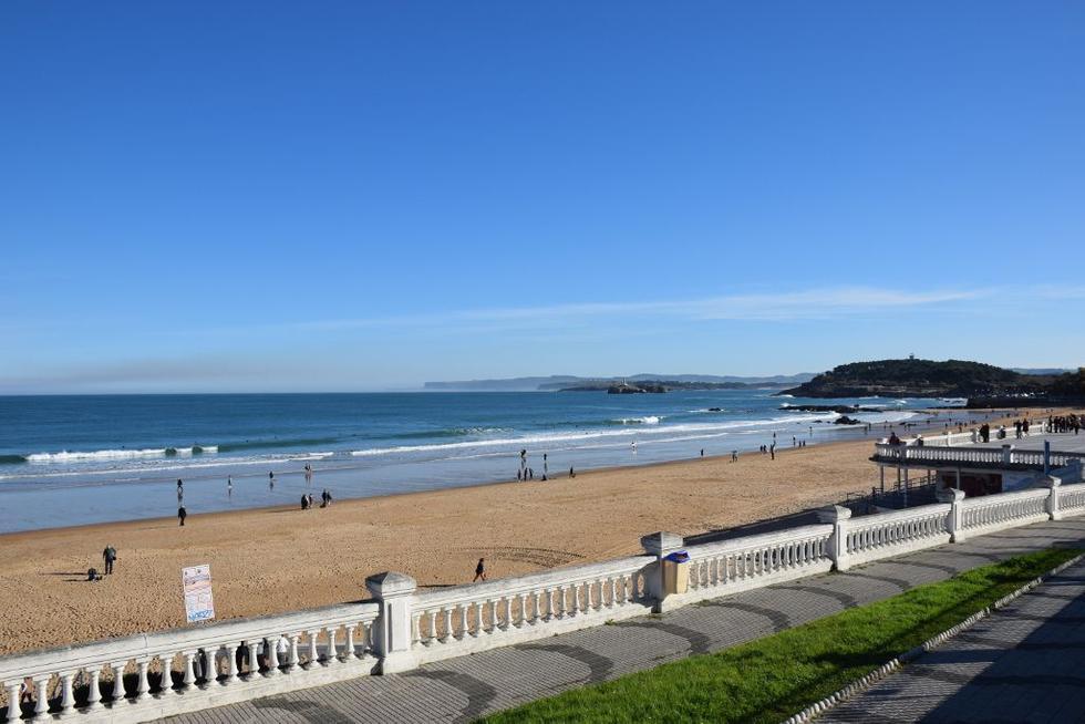 Foto playa Segunda del Pedrucho.