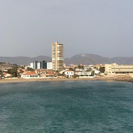 Foto playa La Ermita.