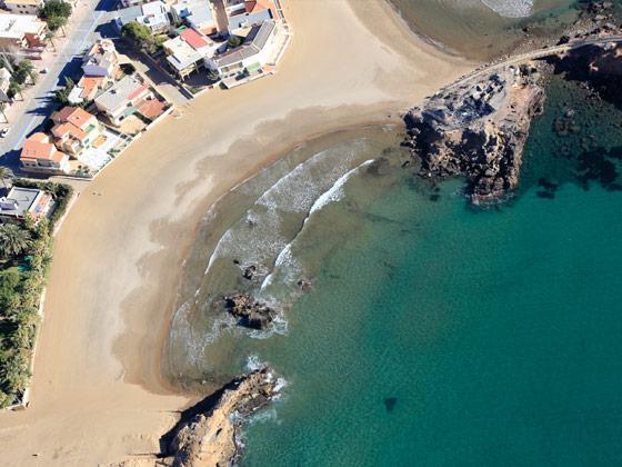 Foto playa La Raja.