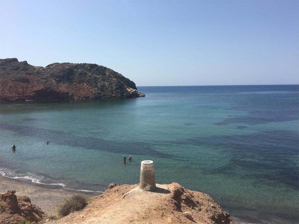 Foto playa Piedra Mala.