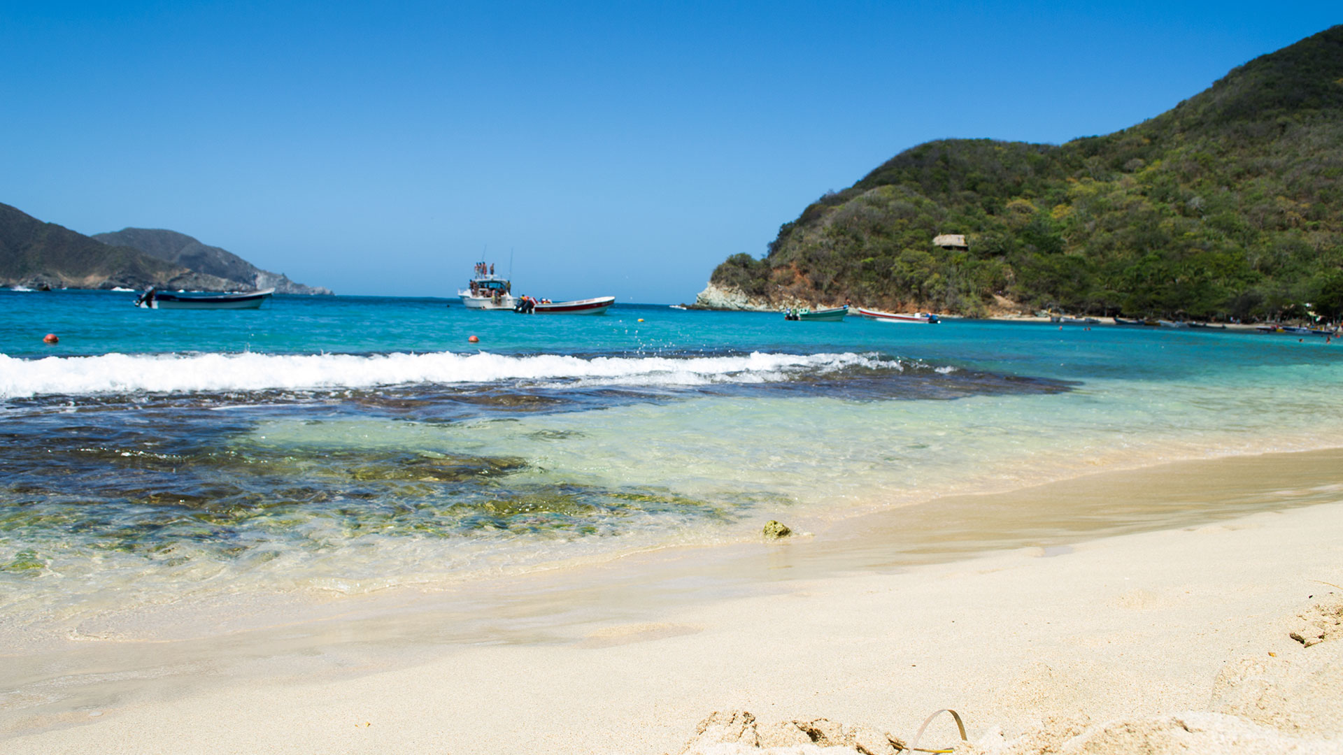 Foto playa Mar de Cristal.