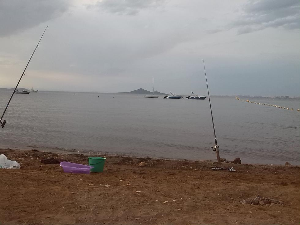 Foto playa Islas Menores.