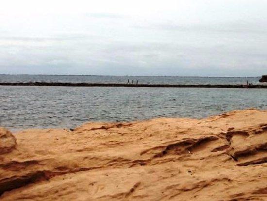 Foto playa Cala Aguilar.