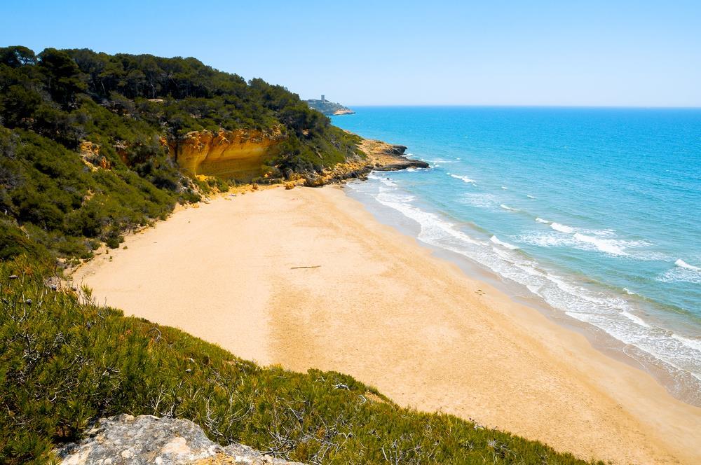 Foto playa Cala Avellan.