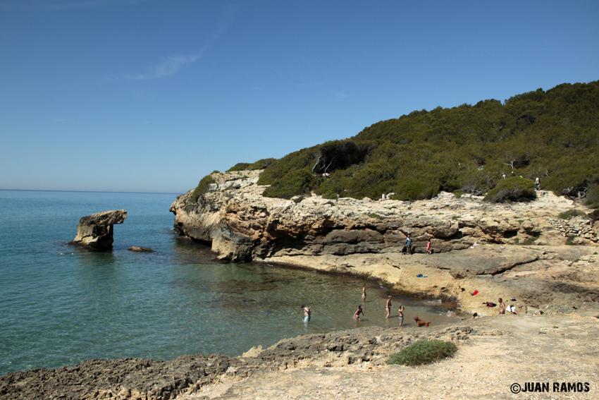 Foto playa Cala del Contrabando.