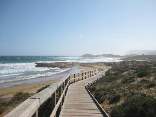 Foto playa Cala Magre.