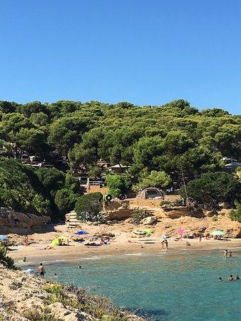 Foto playa Cala Medina.