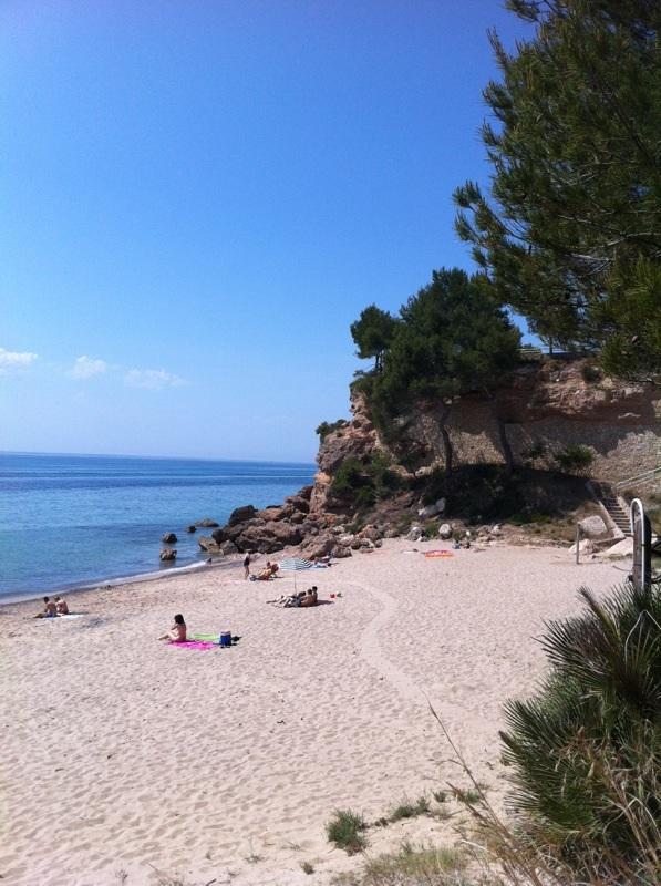 Foto playa Cala Roja.