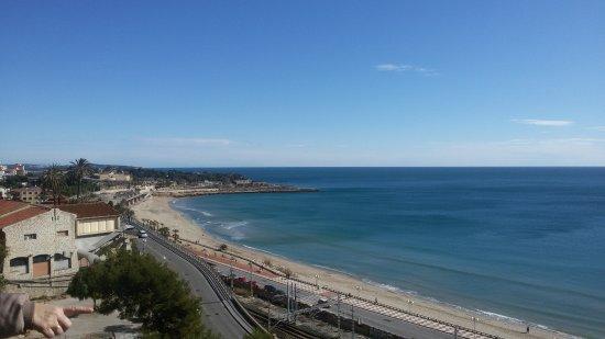 Foto playa El Corral.