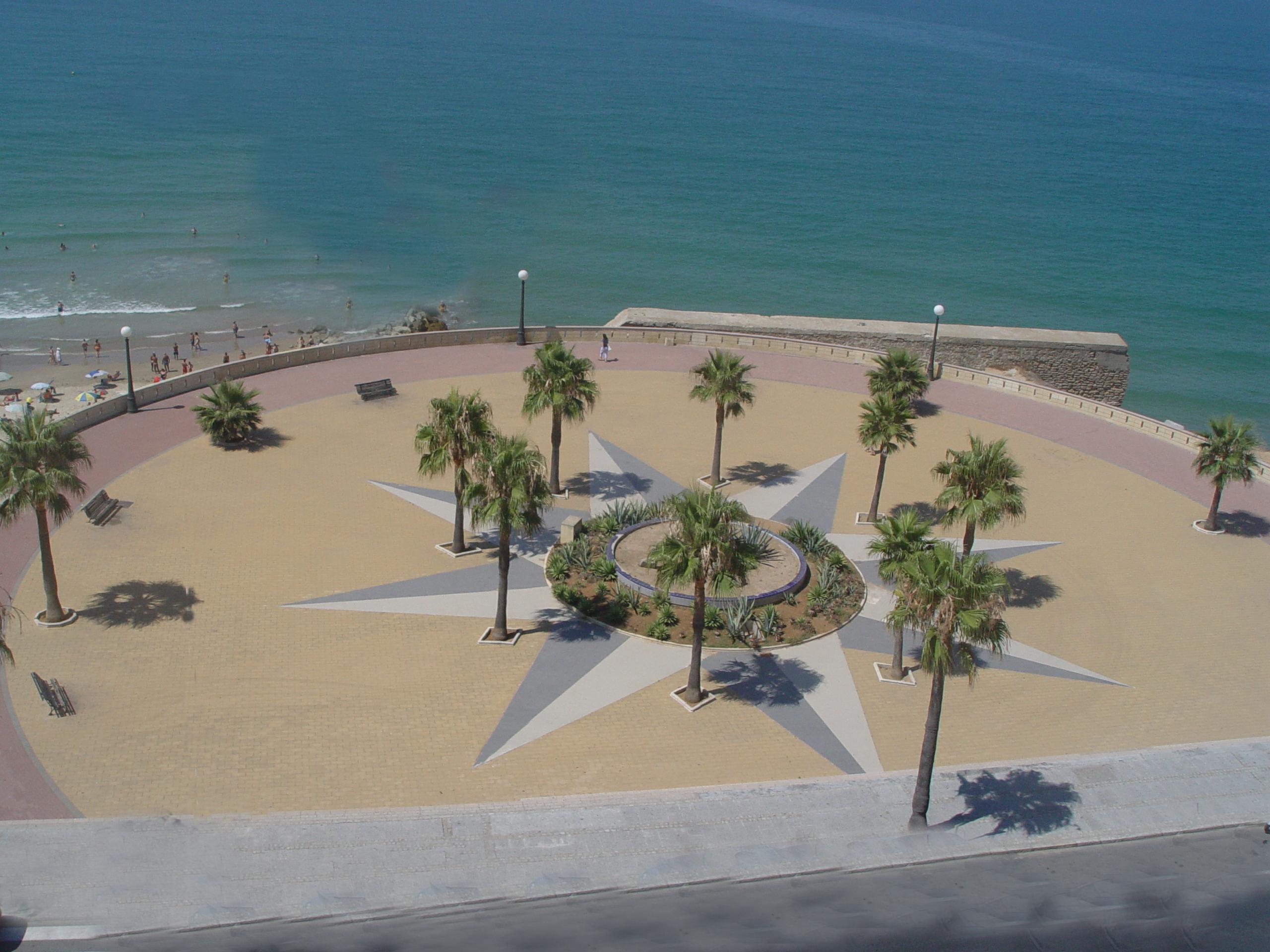 Foto playa Cortadura. Plaza Santa Maria del Mar