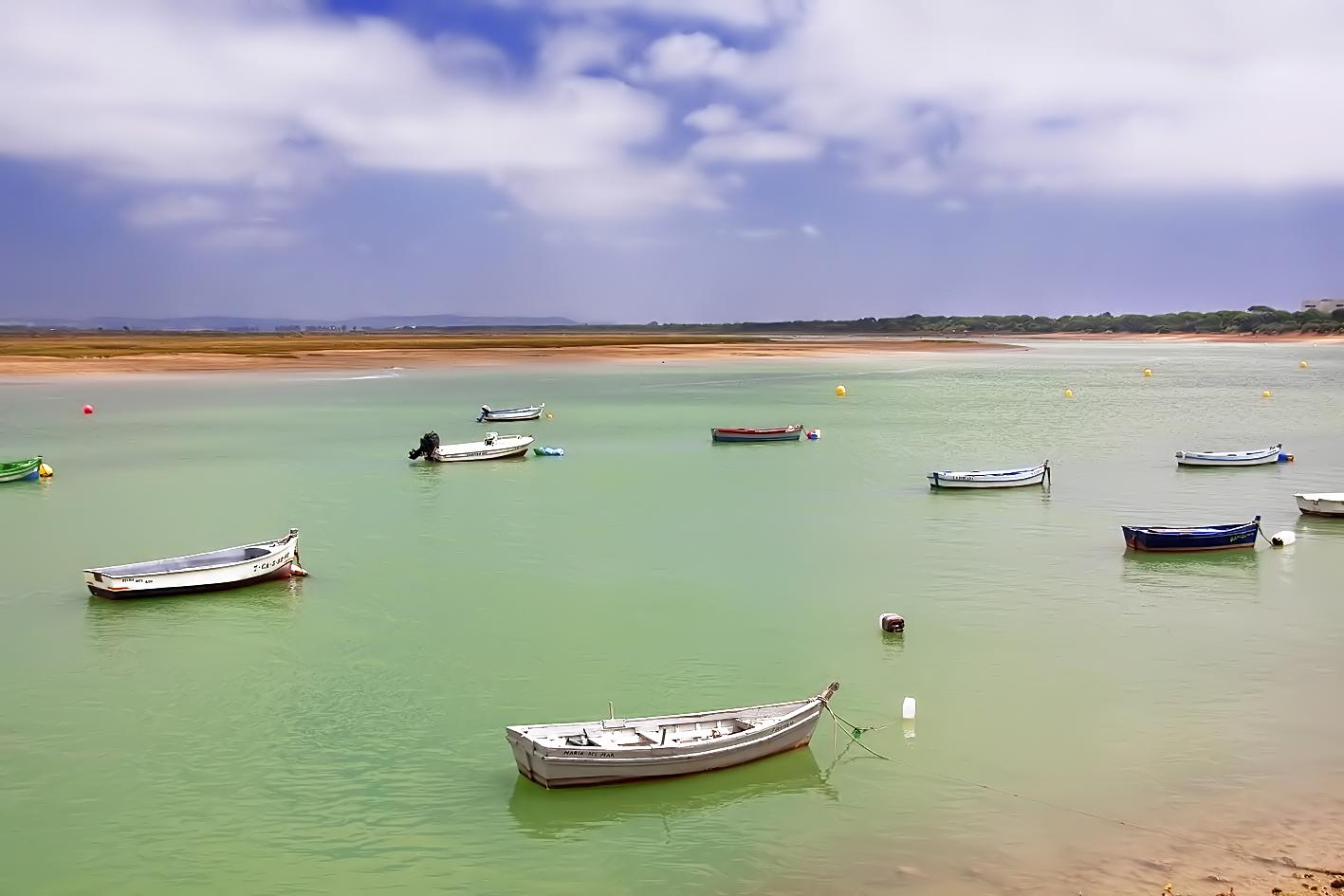 Foto playa Calita de la Bocana del Río / Río San Pedro. Playa de Rio San Pedro. Saint Peter River Beach.