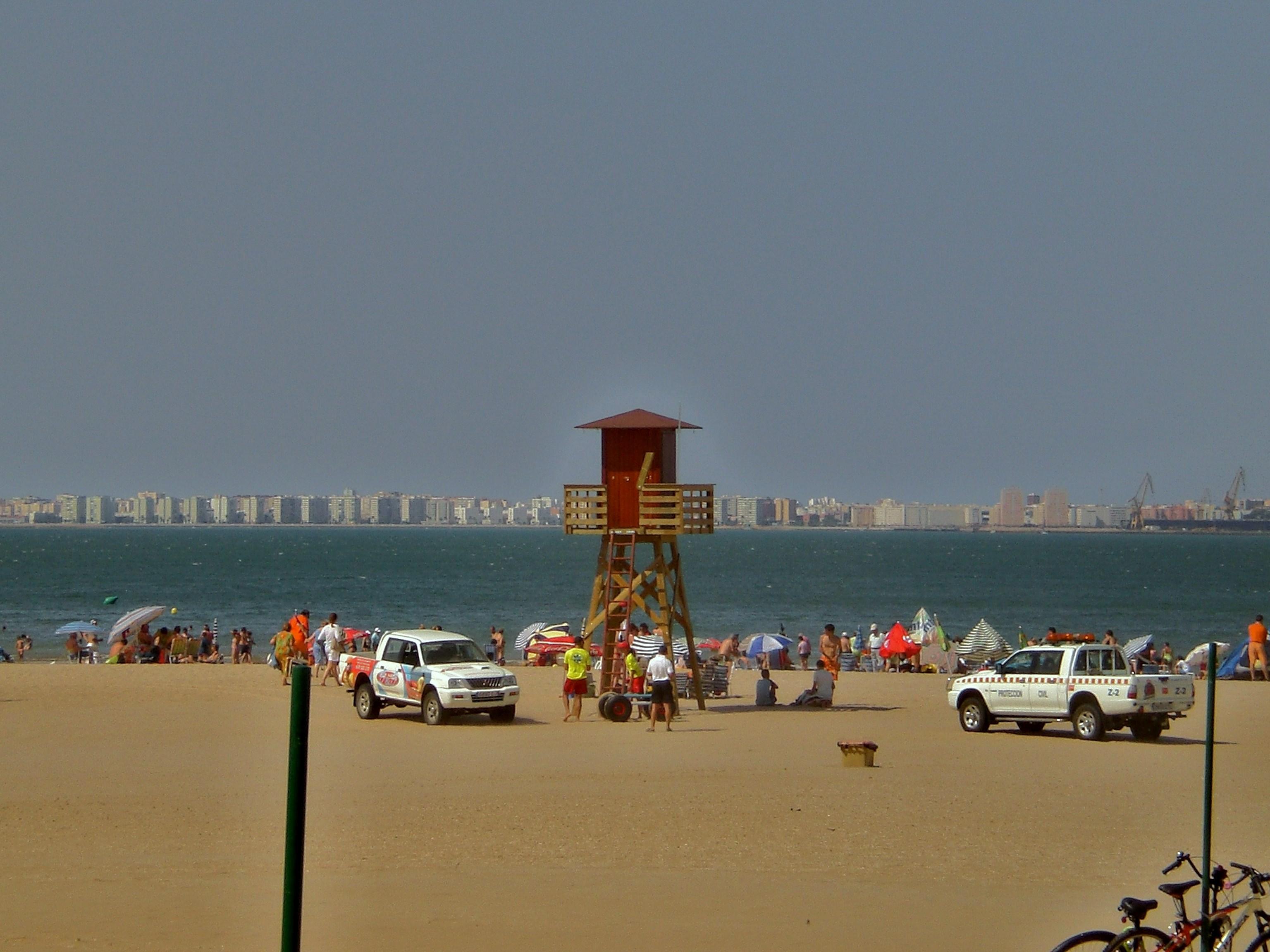 Foto playa Playa de Levante / Los Toruños. Todo bajo control