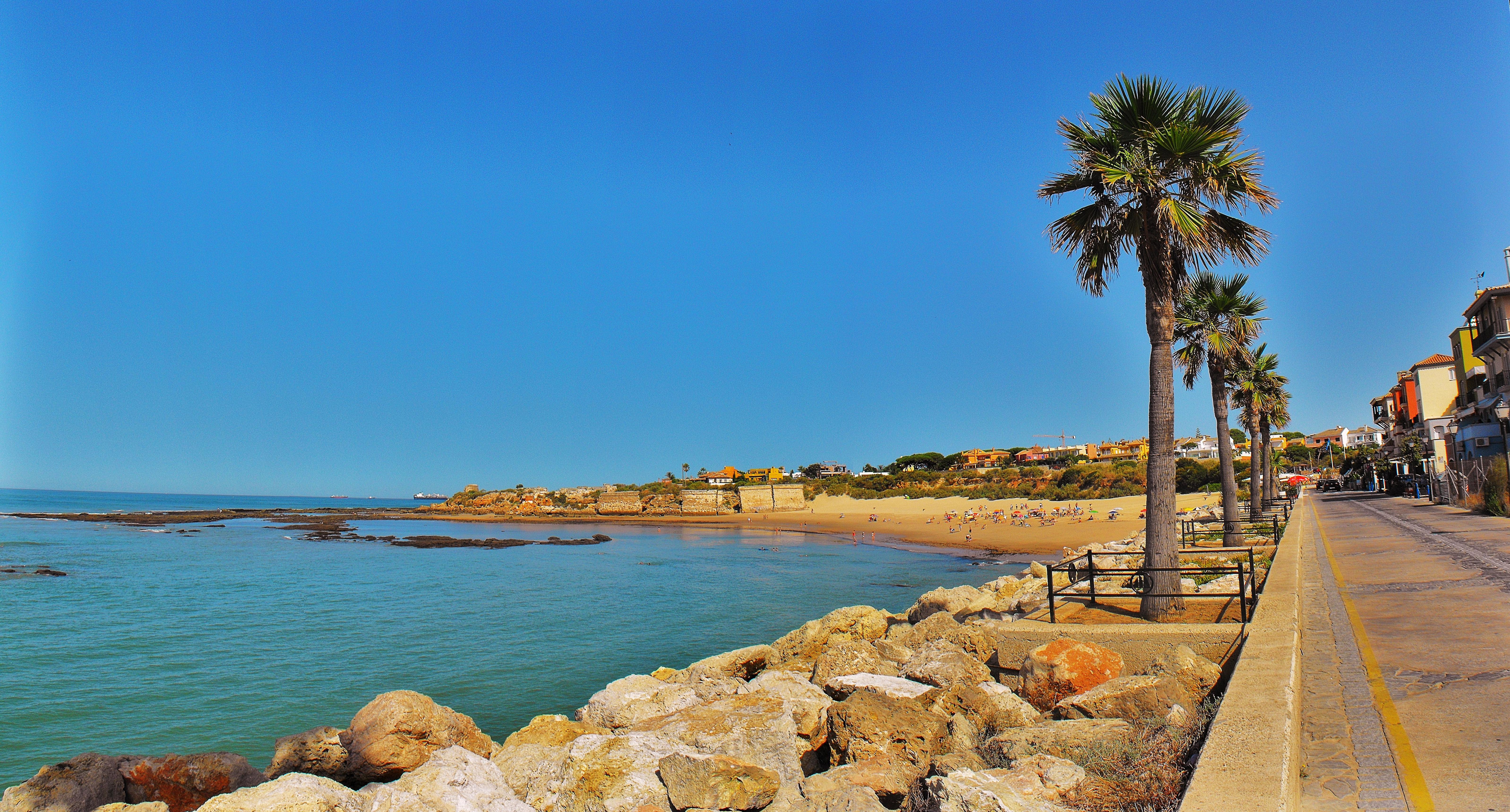 Foto playa La Calita. **_Delicias del sur de Europa_**