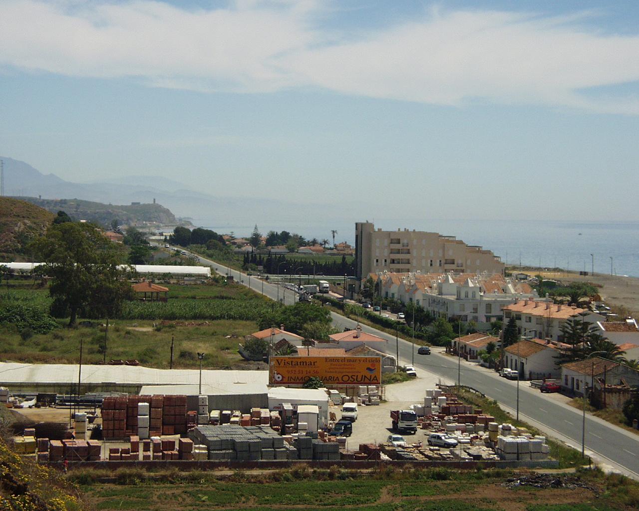 Foto playa Valle Niza. Benajarafe