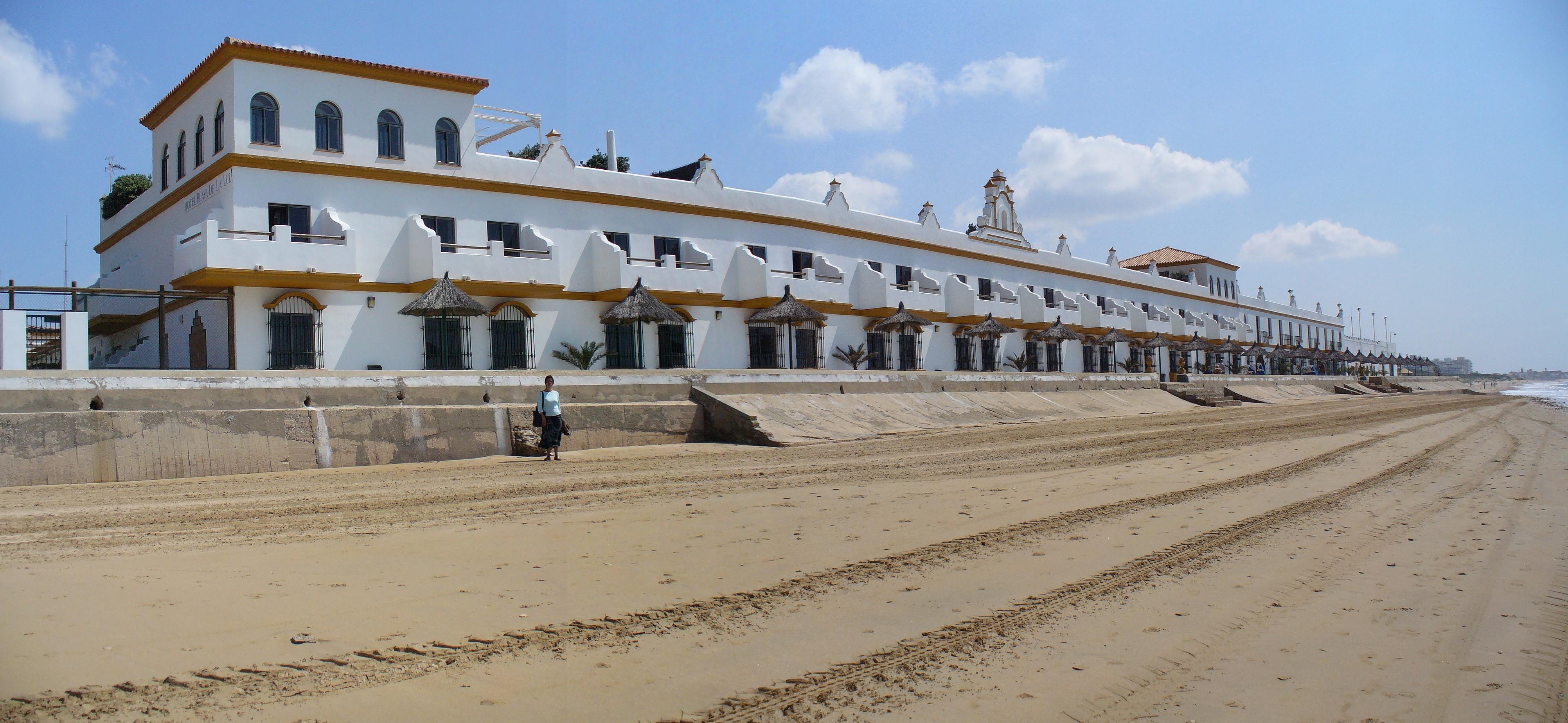 Foto playa Piedras Gordas / Los Corrales. Hotel playa de la Luz en Rota