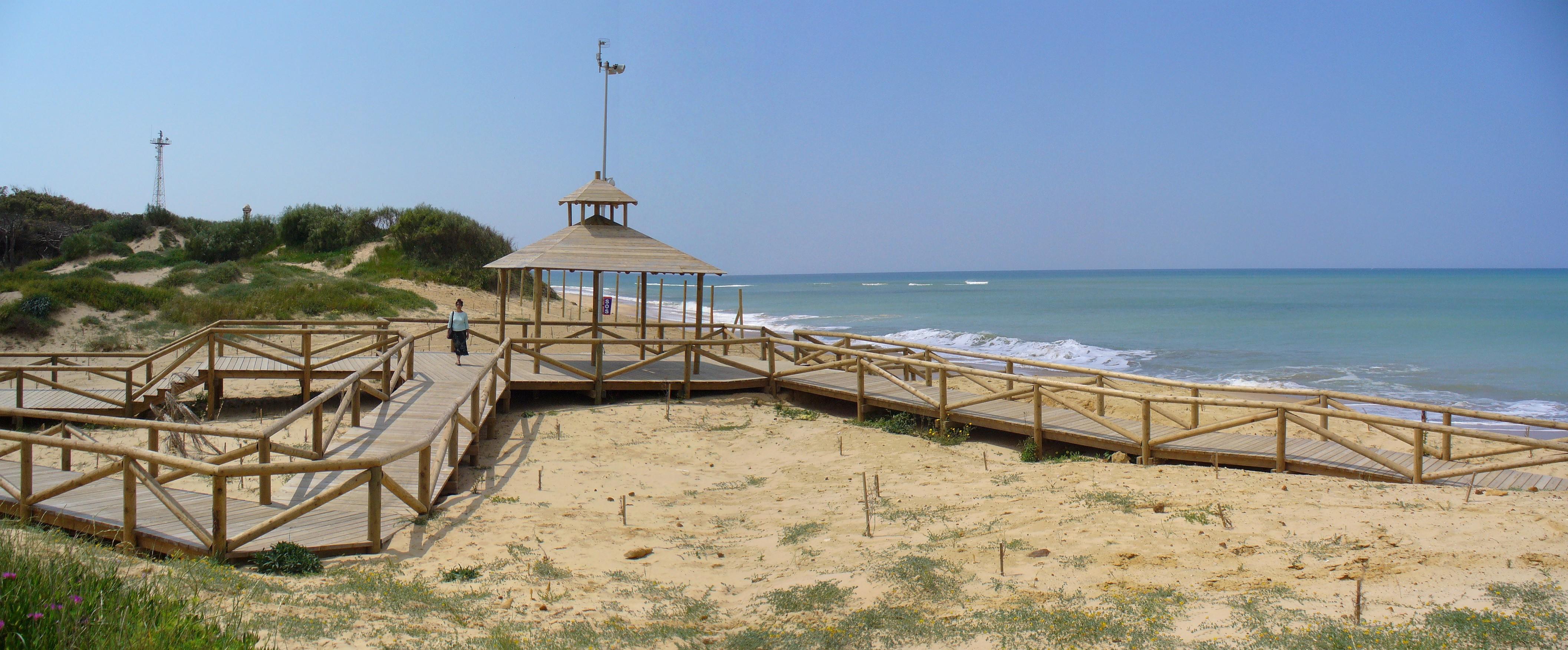 Foto playa Punta Candor. Playa de Punta Candor en Rota