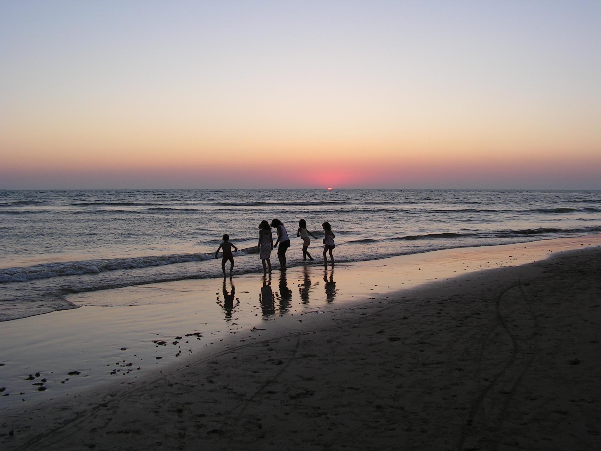 Foto playa Aguadulce / Peginas. playa. Camping playa agua dulce
