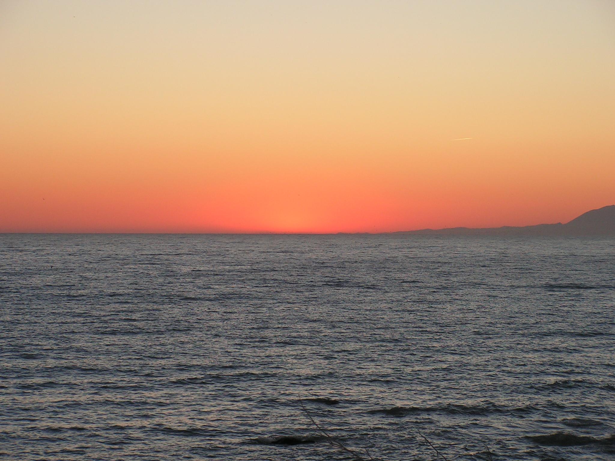 Foto playa Valle Niza. Vista del mar desde Benajarafe