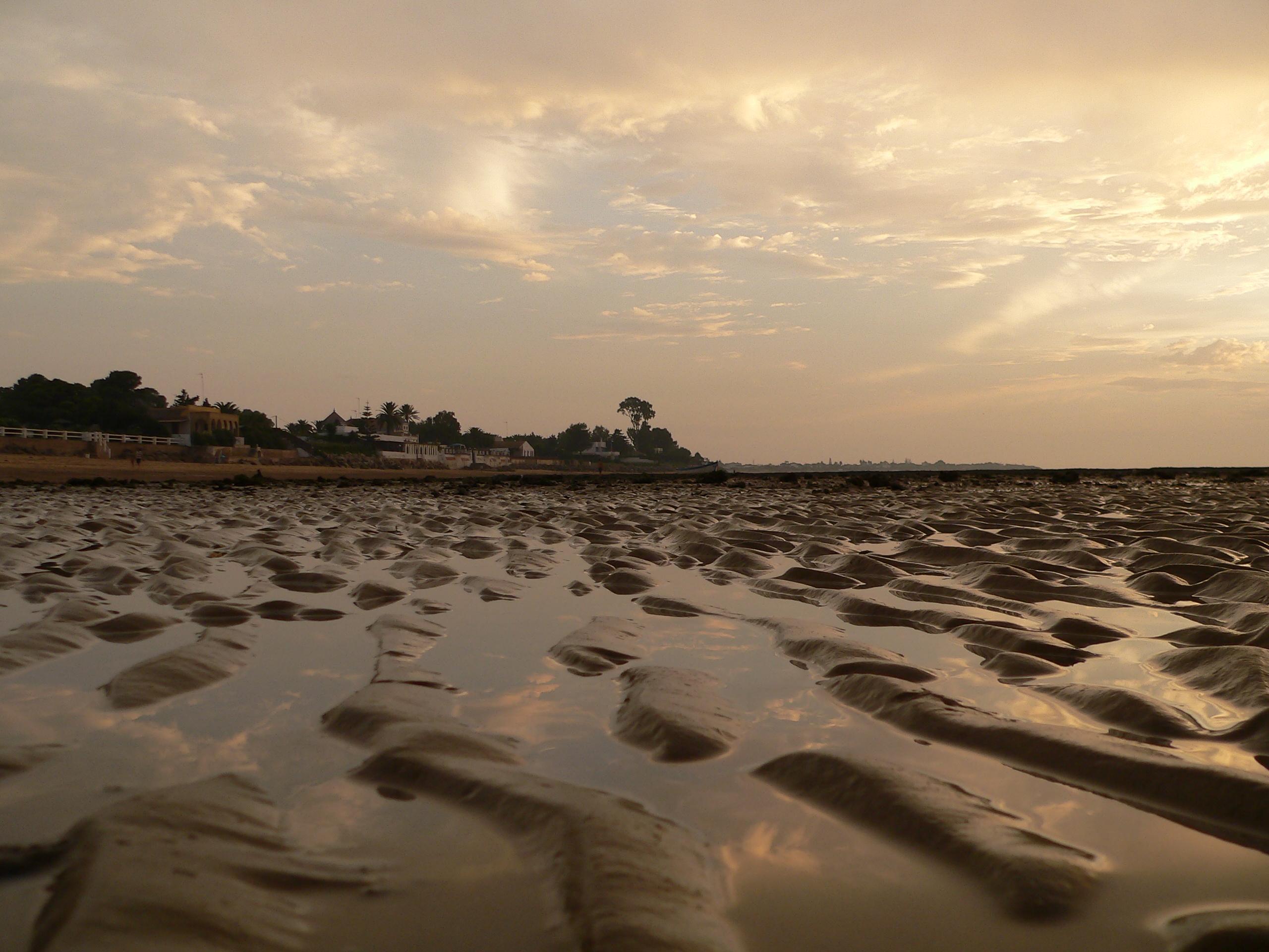 Foto playa La Jara. La Jara. Tarde de bajamar