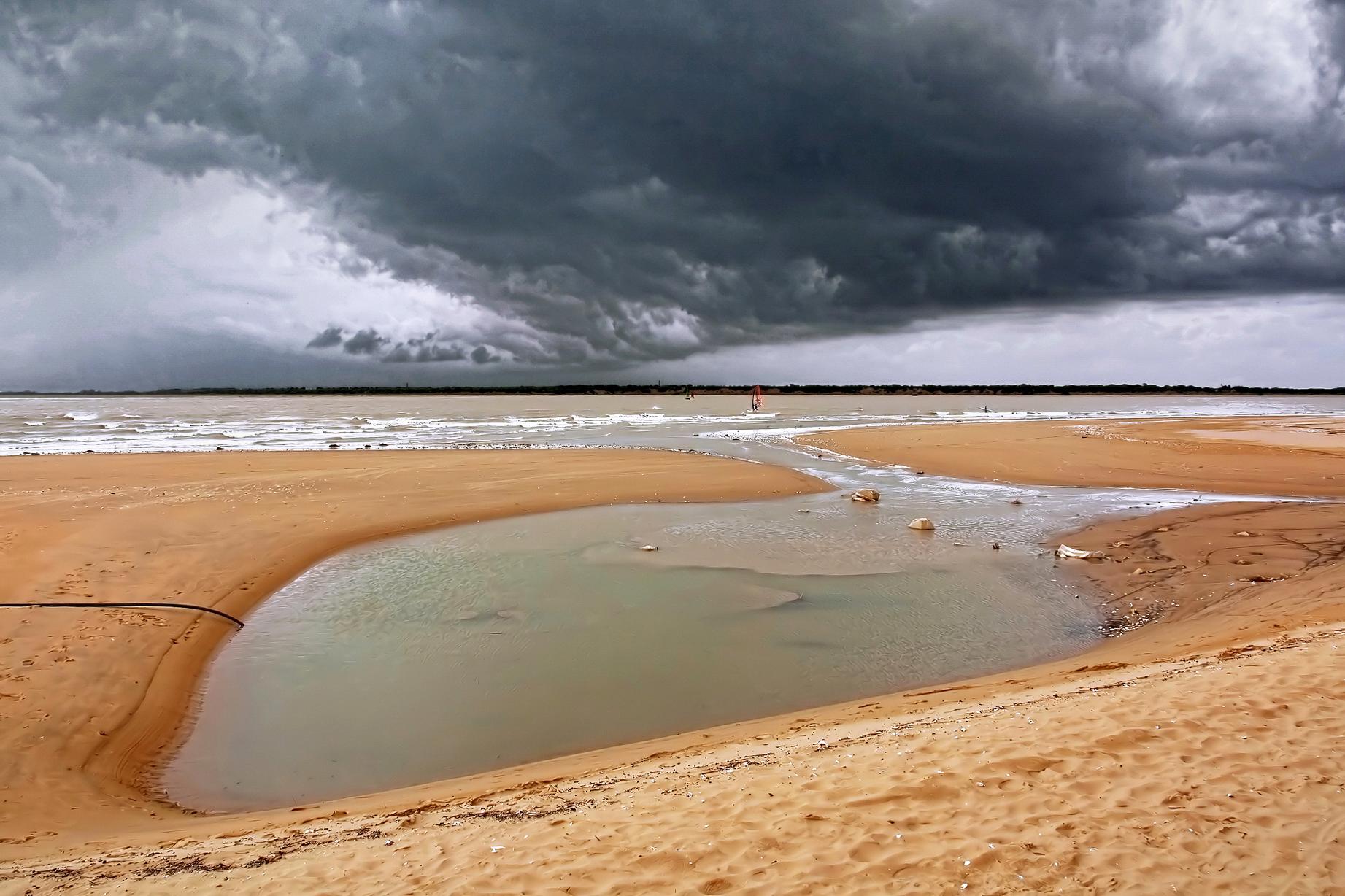 Foto playa La Calzada / El Hipódromo / Playa de Sanlúcar. Playa de Bajo de Guía (Sanlúcar de Barrameda). Bajo de Guía Beach (Sanlúcar de Barrameda).