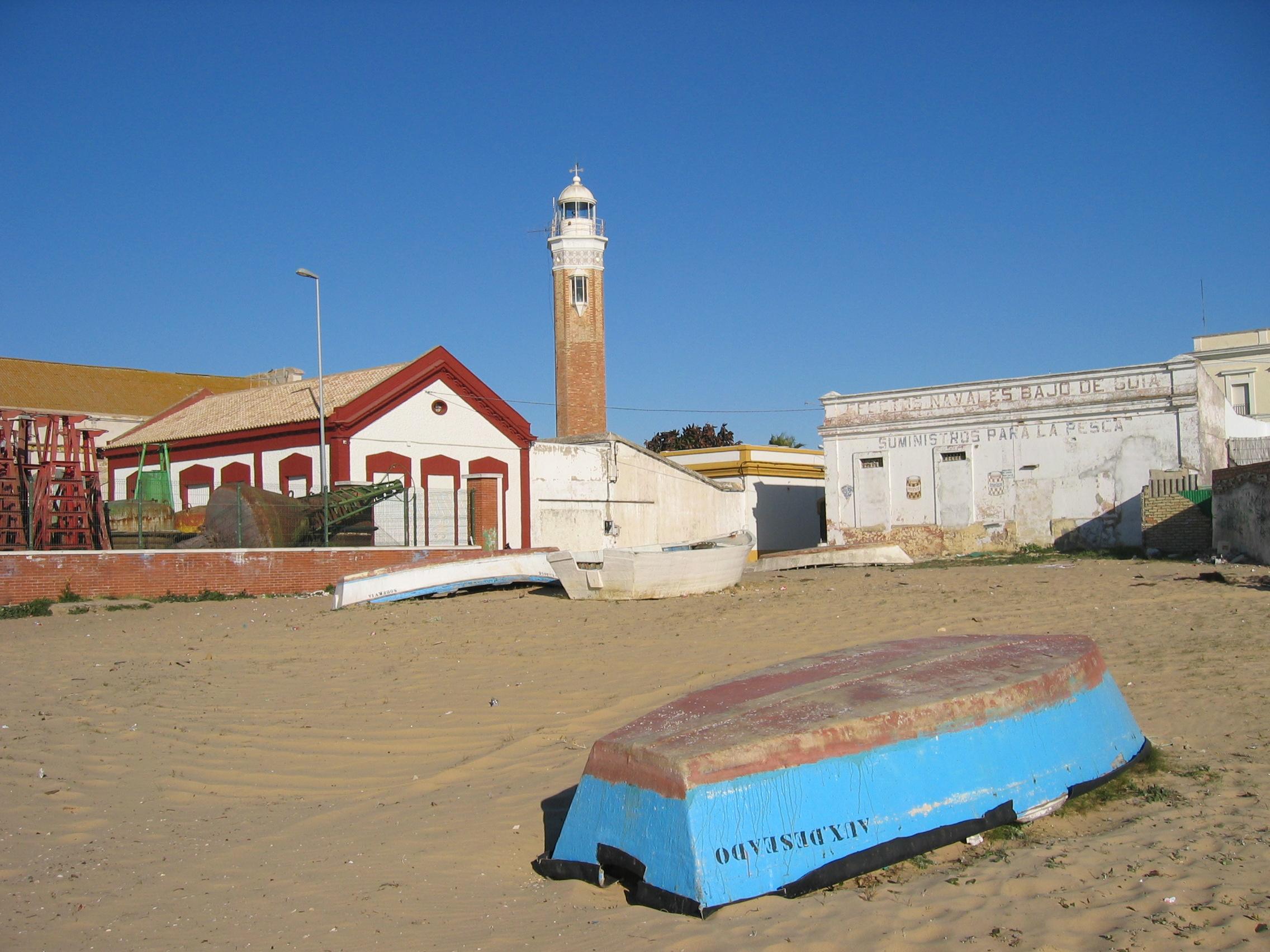 Foto playa Bonanza. Faro, Puerto de Bonanza, Spain 2005