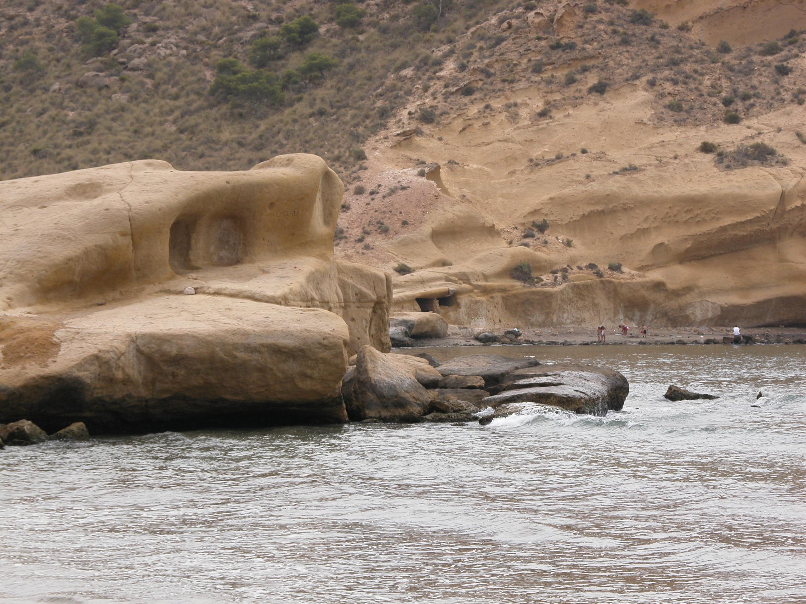 Foto playa Cala Cerrada / Cala de los Cocederos. Praia das Palmeiras