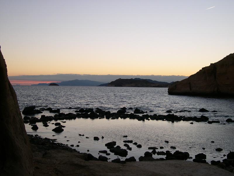 Foto playa Cala Cerrada / Cala de los Cocederos. Hacia Poniente