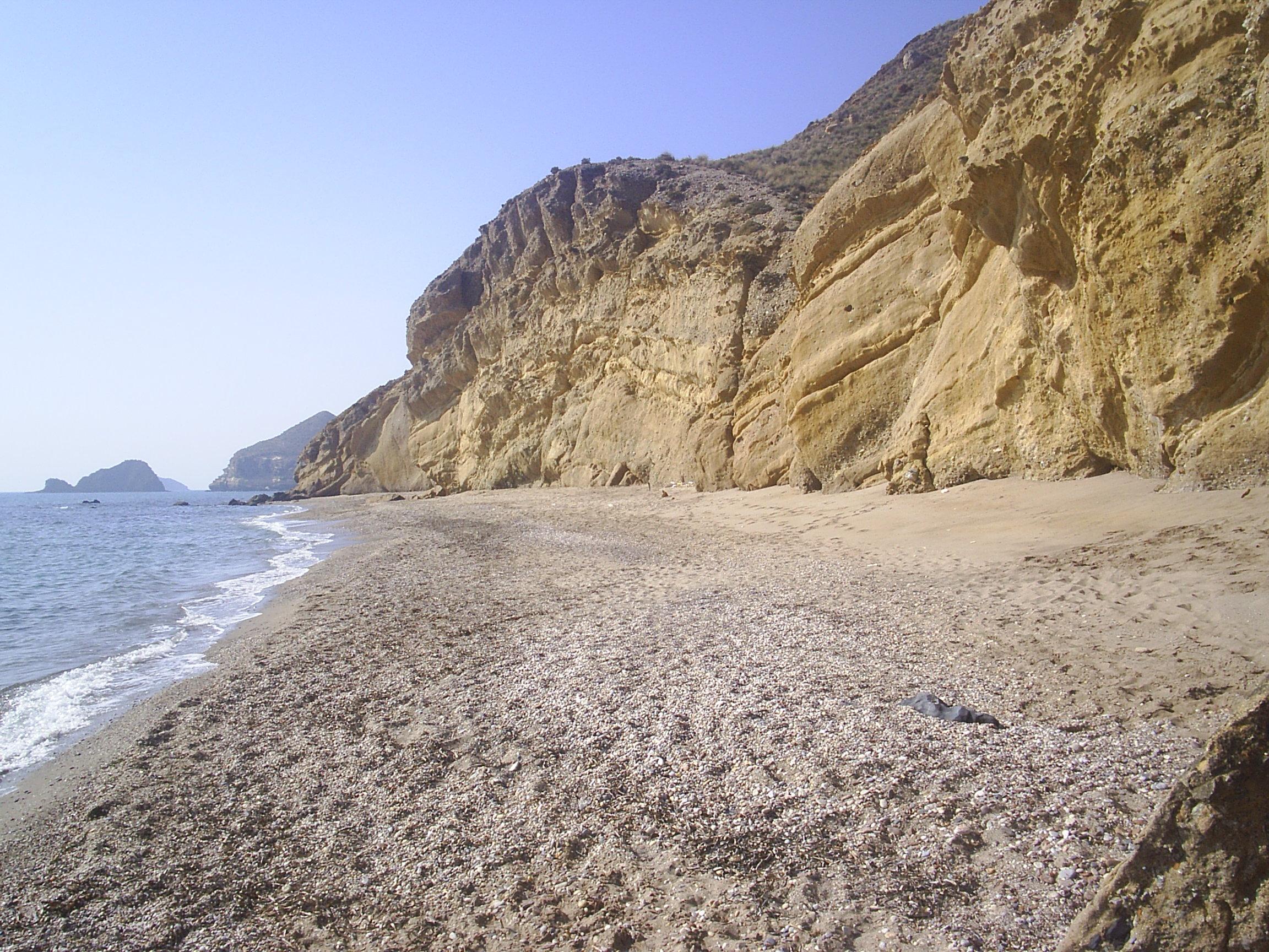Foto playa La Carolina / Las Palmeras. Playa en Terreros