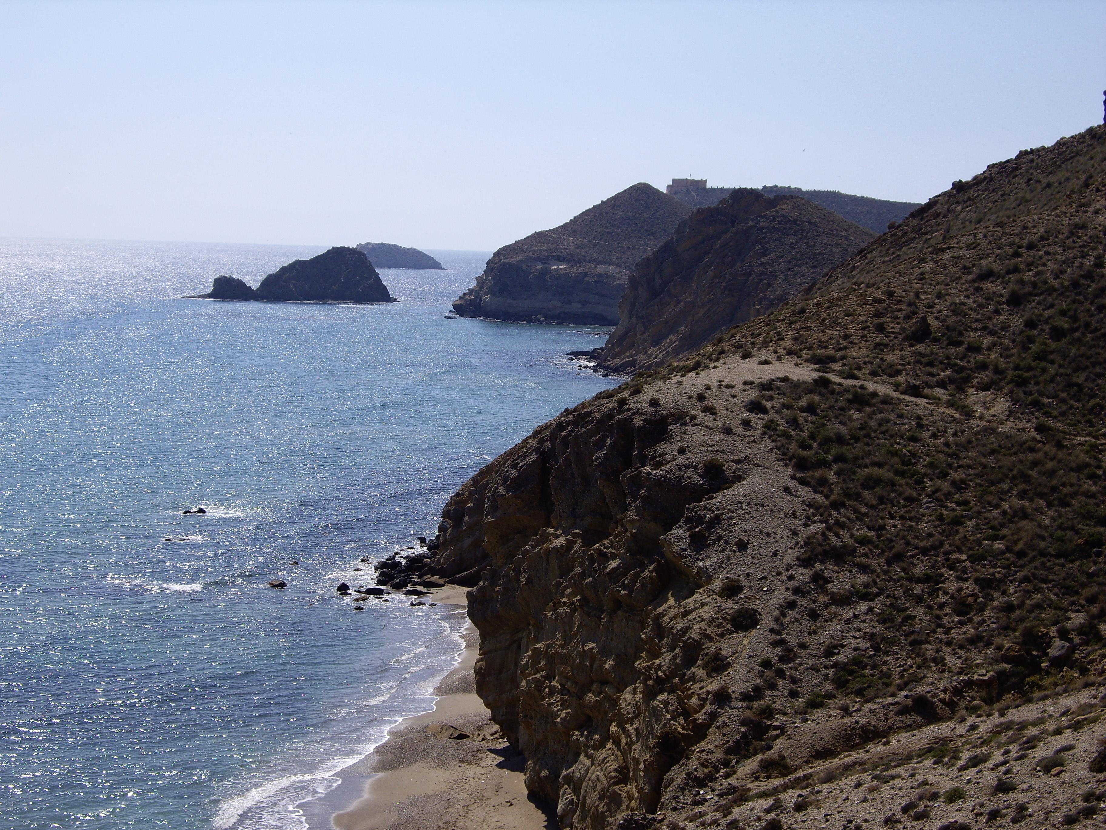 Foto playa La Carolina / Las Palmeras. Costa de Terreros