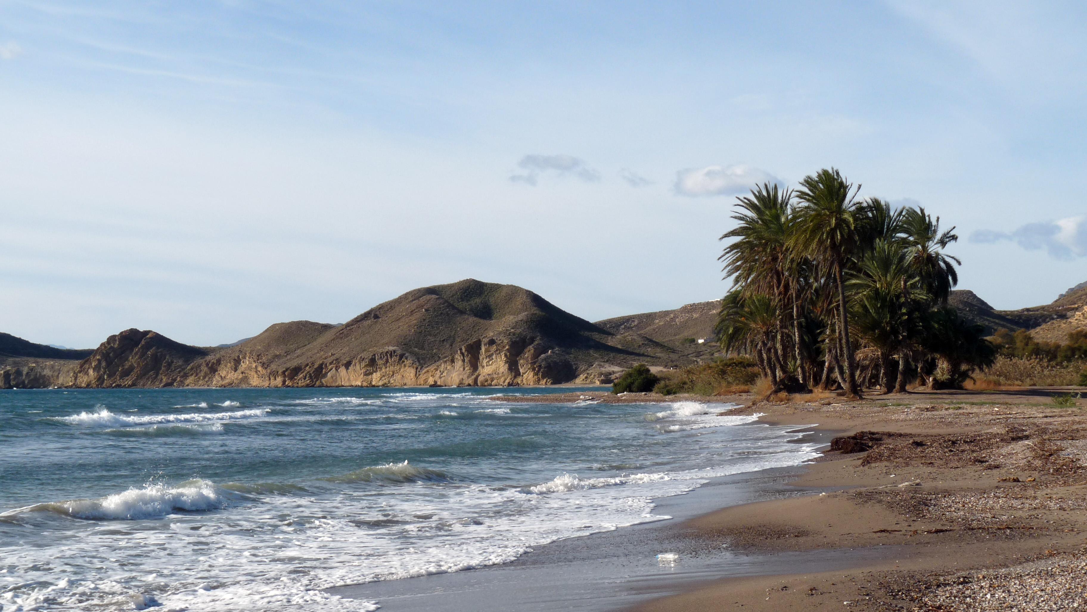 Foto playa La Carolina / Las Palmeras. Playa de las Palmeras