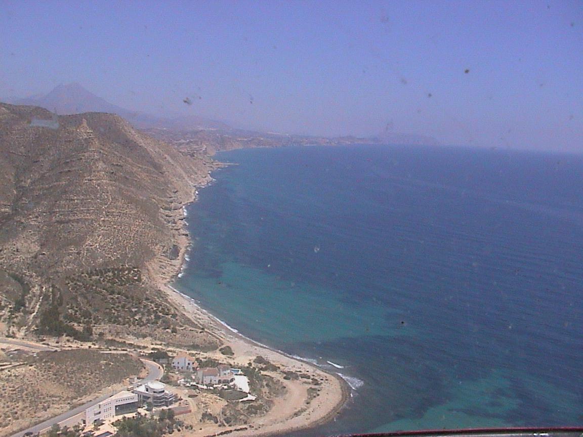 Foto playa Cala Cuartel. Costa Loma de Reixes (El Campello)