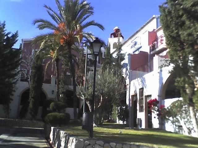 Foto playa Cala Cuartel. Hotel Pueblo Acantilado