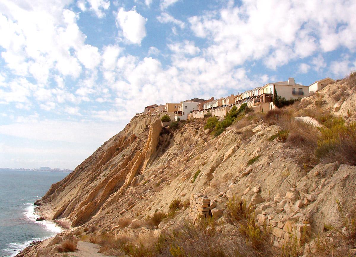 Foto playa Cala Cuartel. Pueblo Acantilado