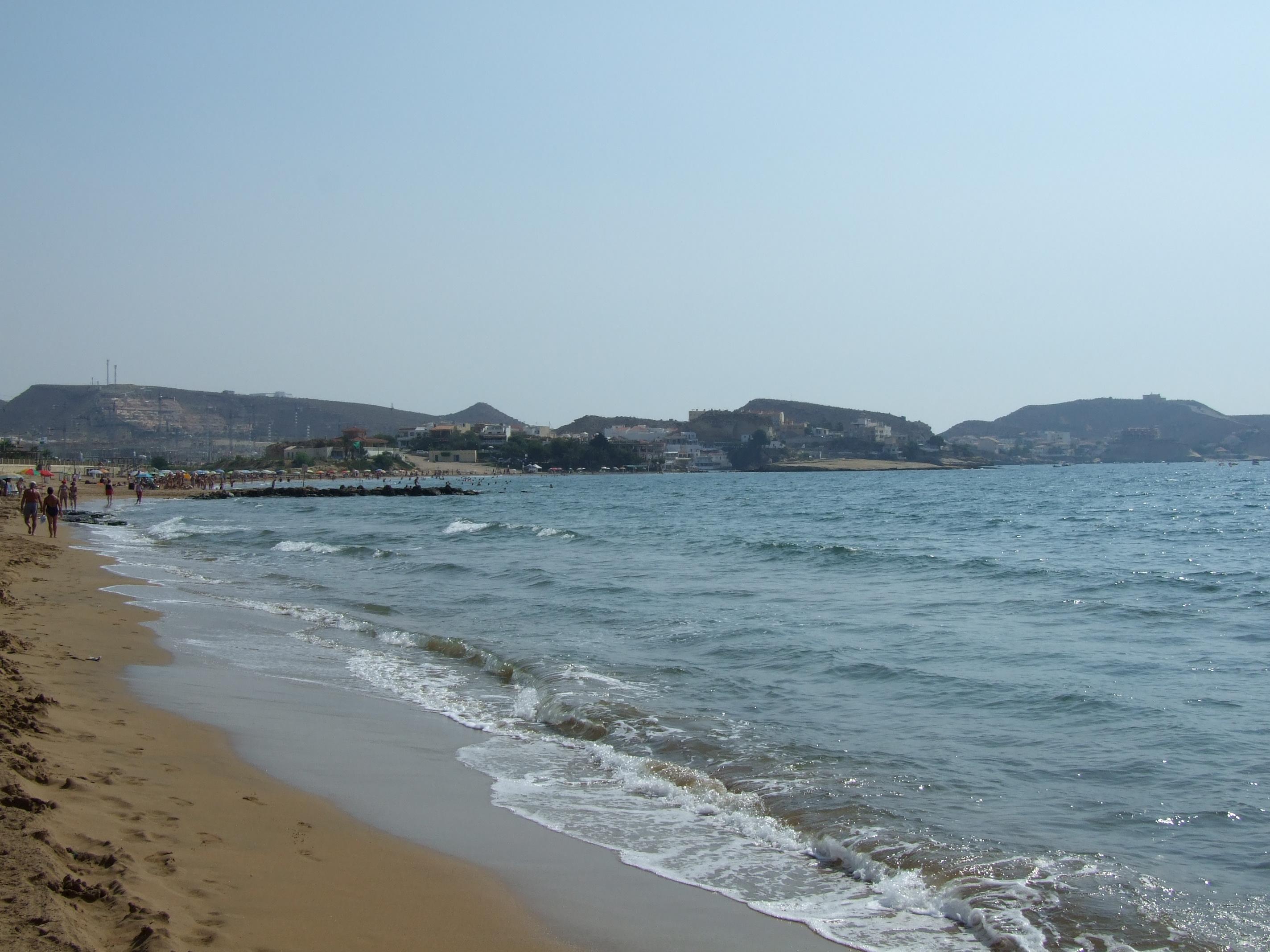 Foto playa Cala de la Tía Antonia. Playa serena ( Terreros)