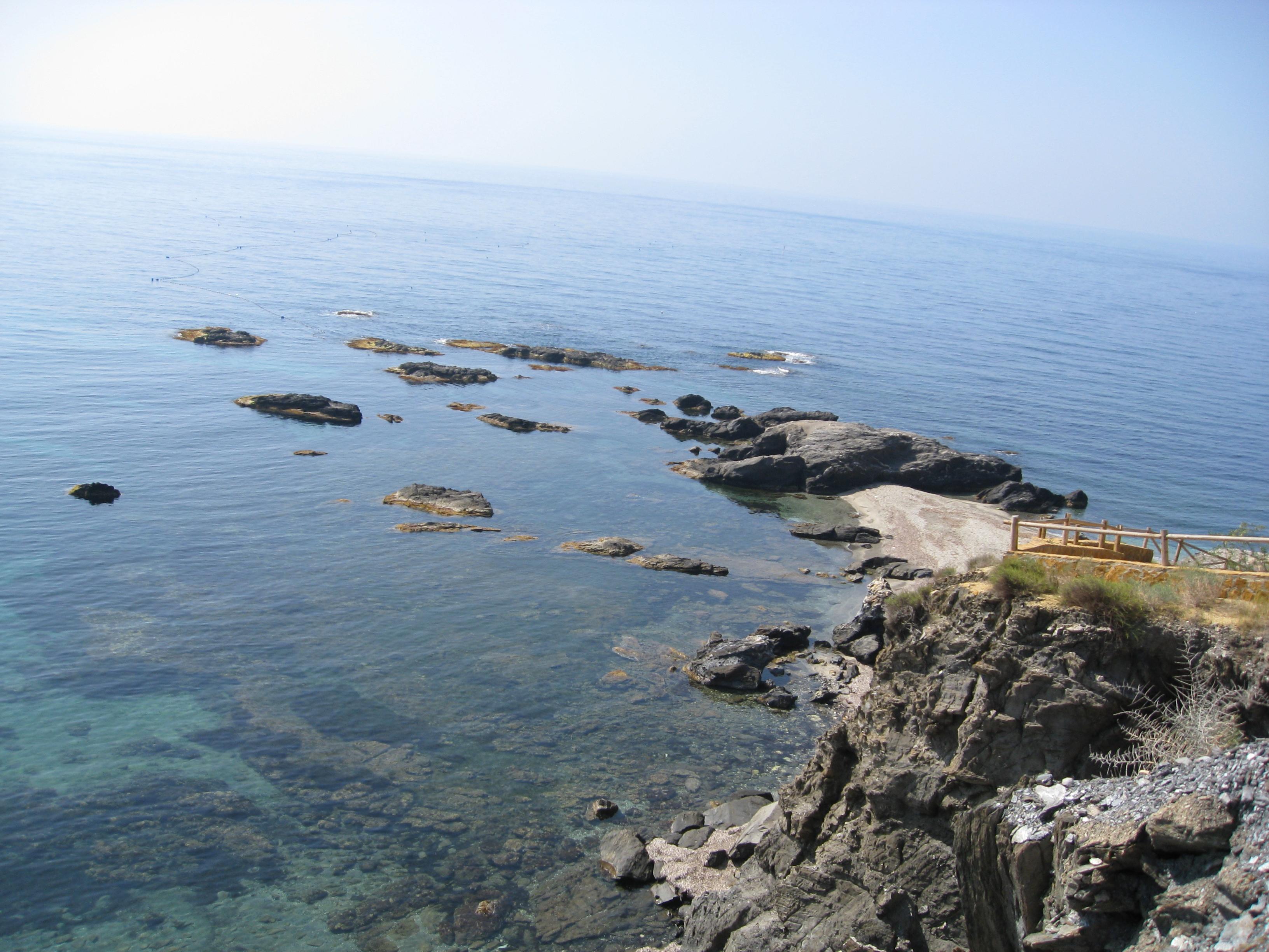 Foto playa Cala Cristal. uitzicht zee
