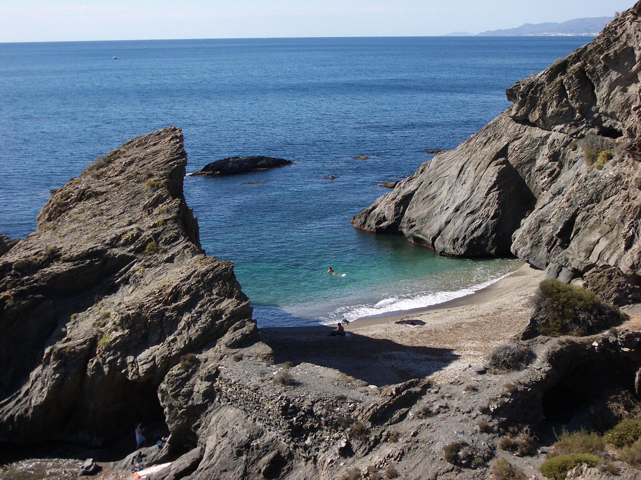 Foto playa Embarcadero Viejo. Cala del Peñon Cortado