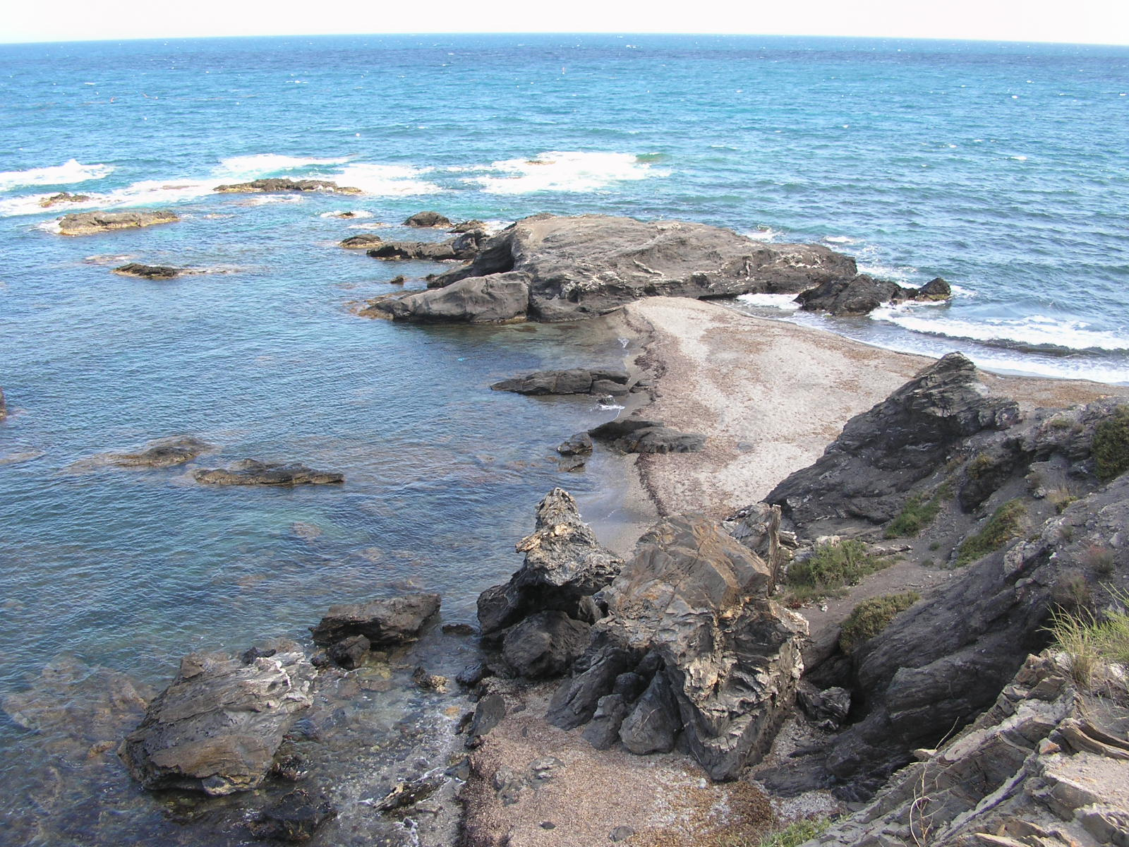 Foto playa Embarcadero Viejo. Cala a dos bandas