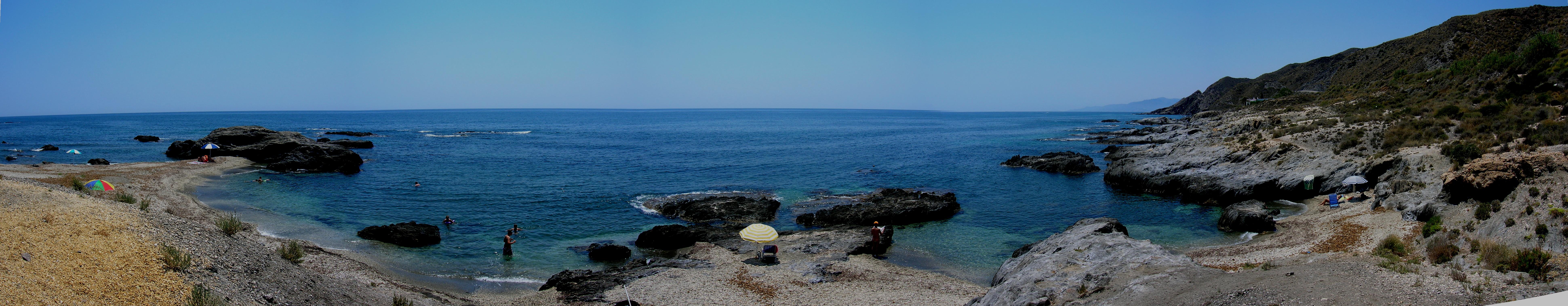 Foto playa Cala Invencible. Cala de cristal