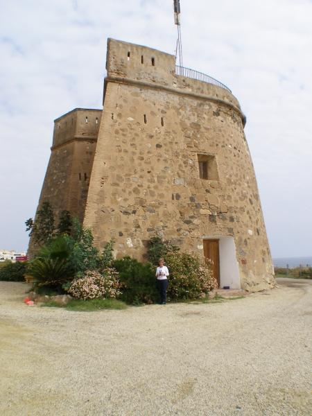 Foto playa Villaricos. Castillo-Villaricos (Almería)