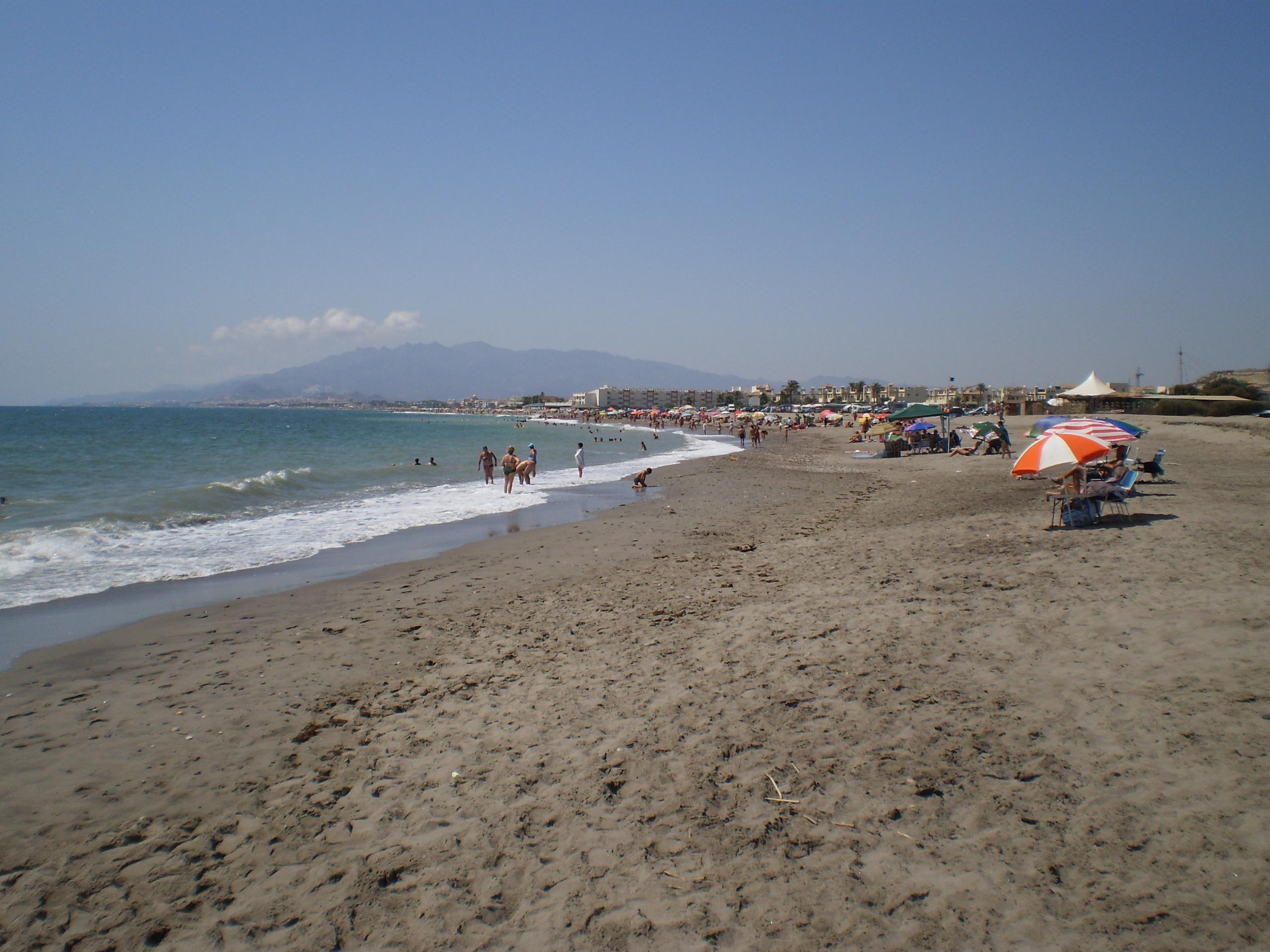 Foto playa Fábrica del Duro. el playazo desde palomares