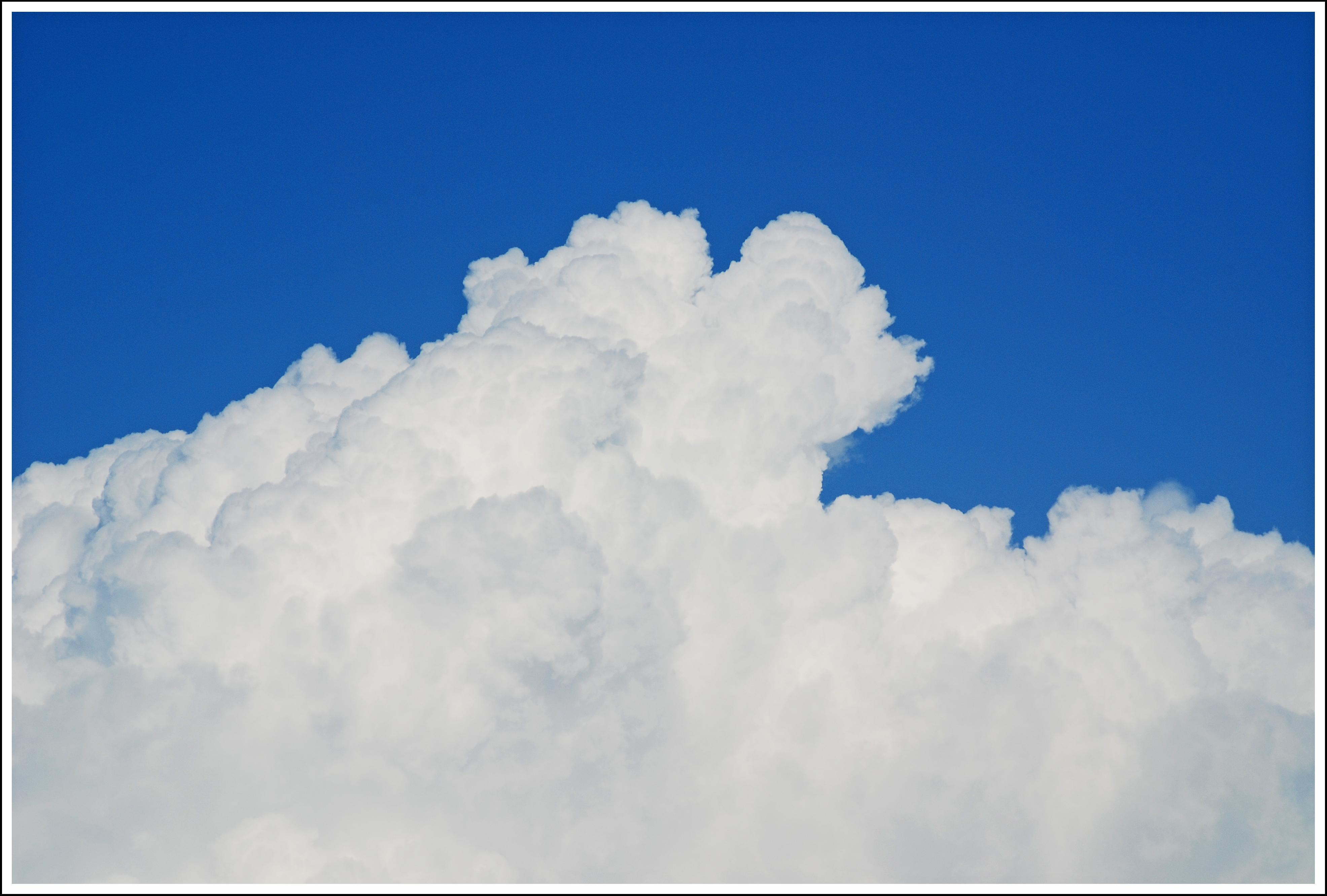 Foto playa Los Rubios. Nubes