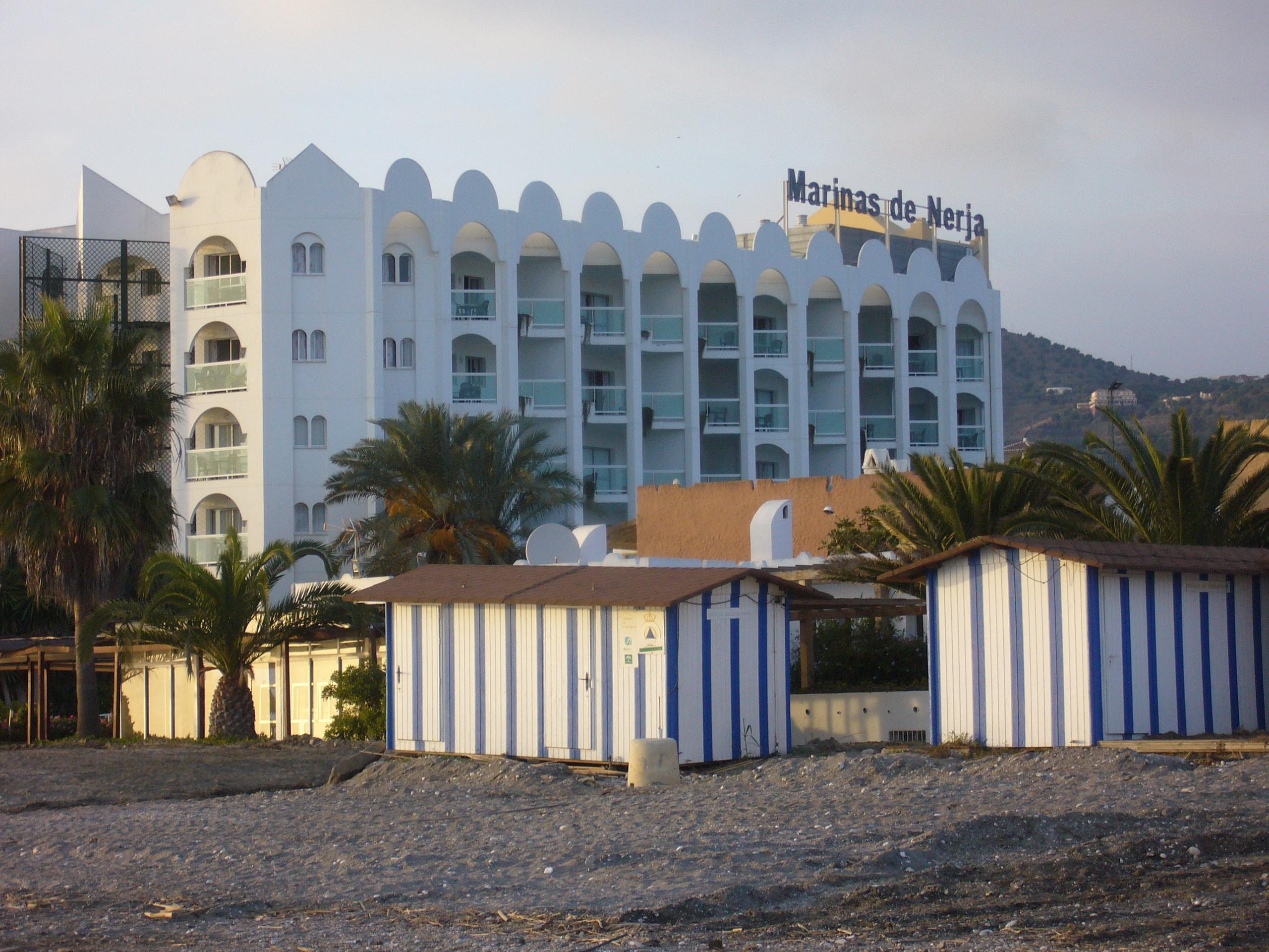 Foto playa El Playazo. Hotel Marinas de Nerja