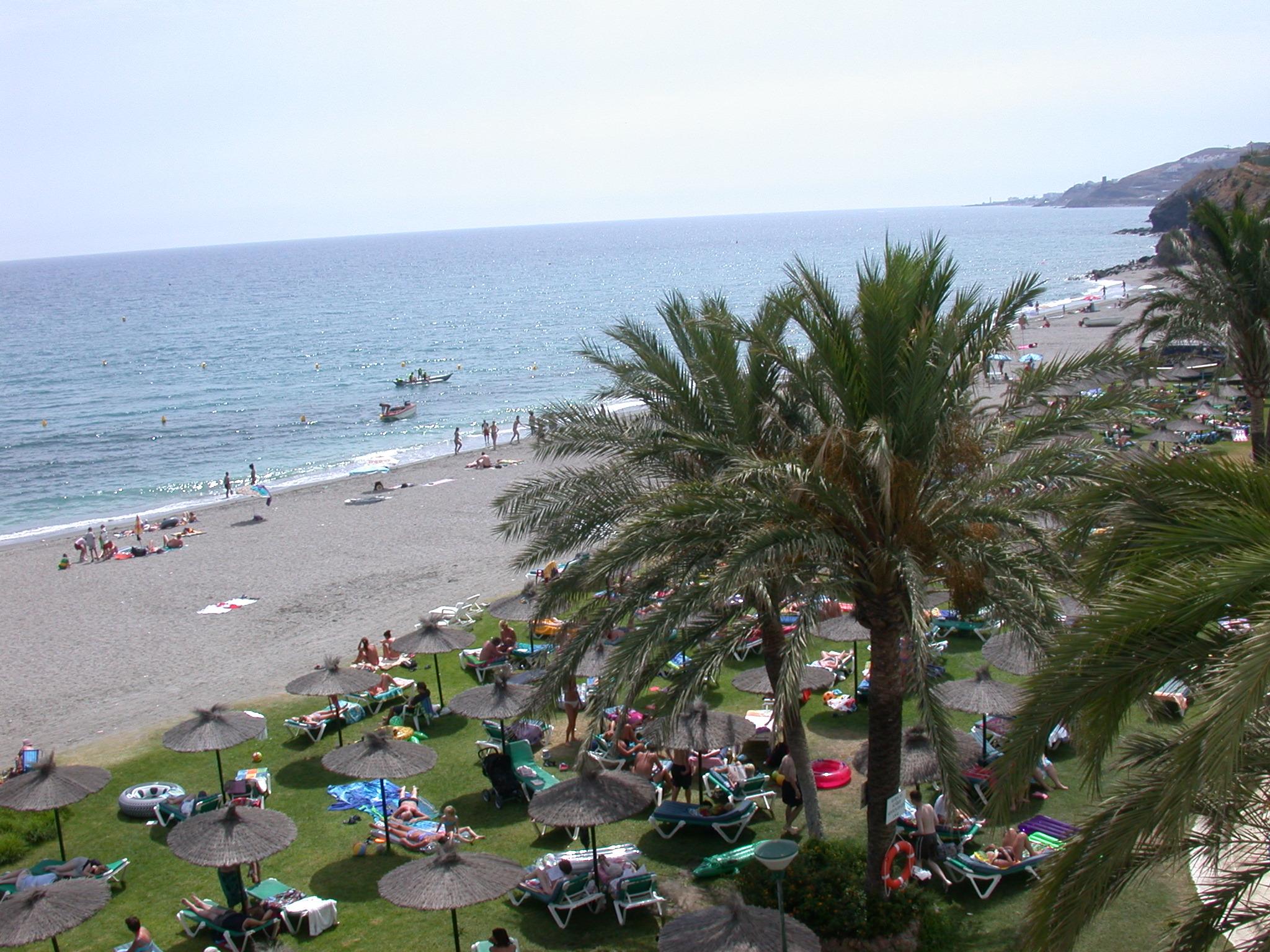 Foto playa El Playazo. Hotel wiev