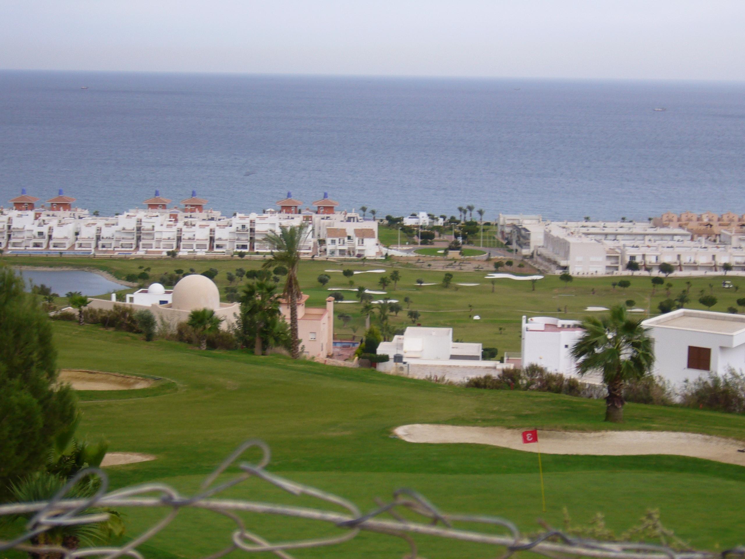 Foto playa Puerto Rey. vista de mojacar