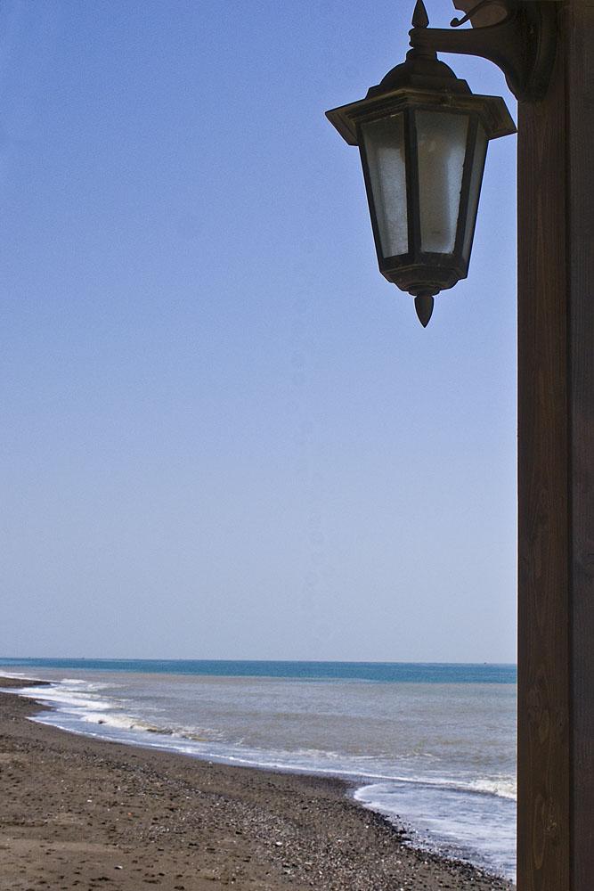 Foto playa Los Rubios. La playa y el chiringuito