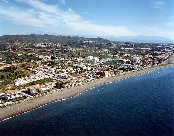 Foto playa Los Rubios. Costa Torre de Benagalbón
