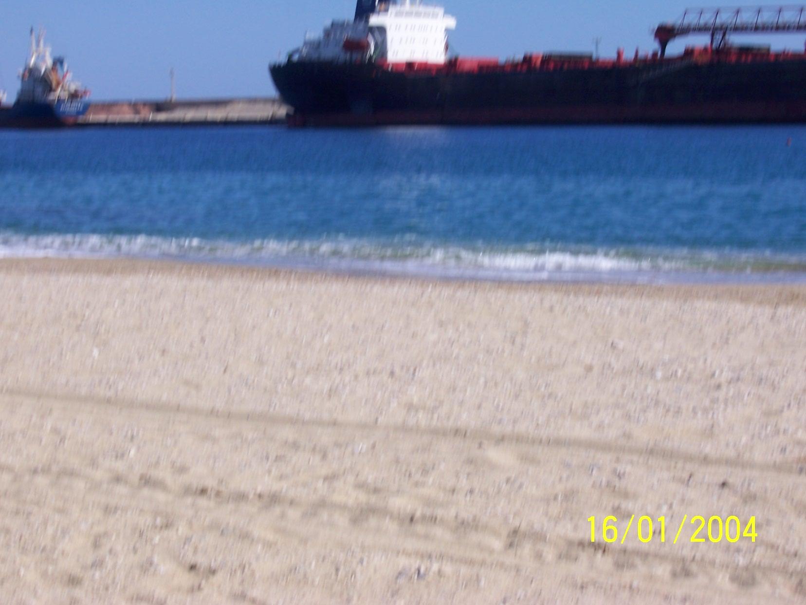 Foto playa Garrucha / Las Escobetas. barcos...